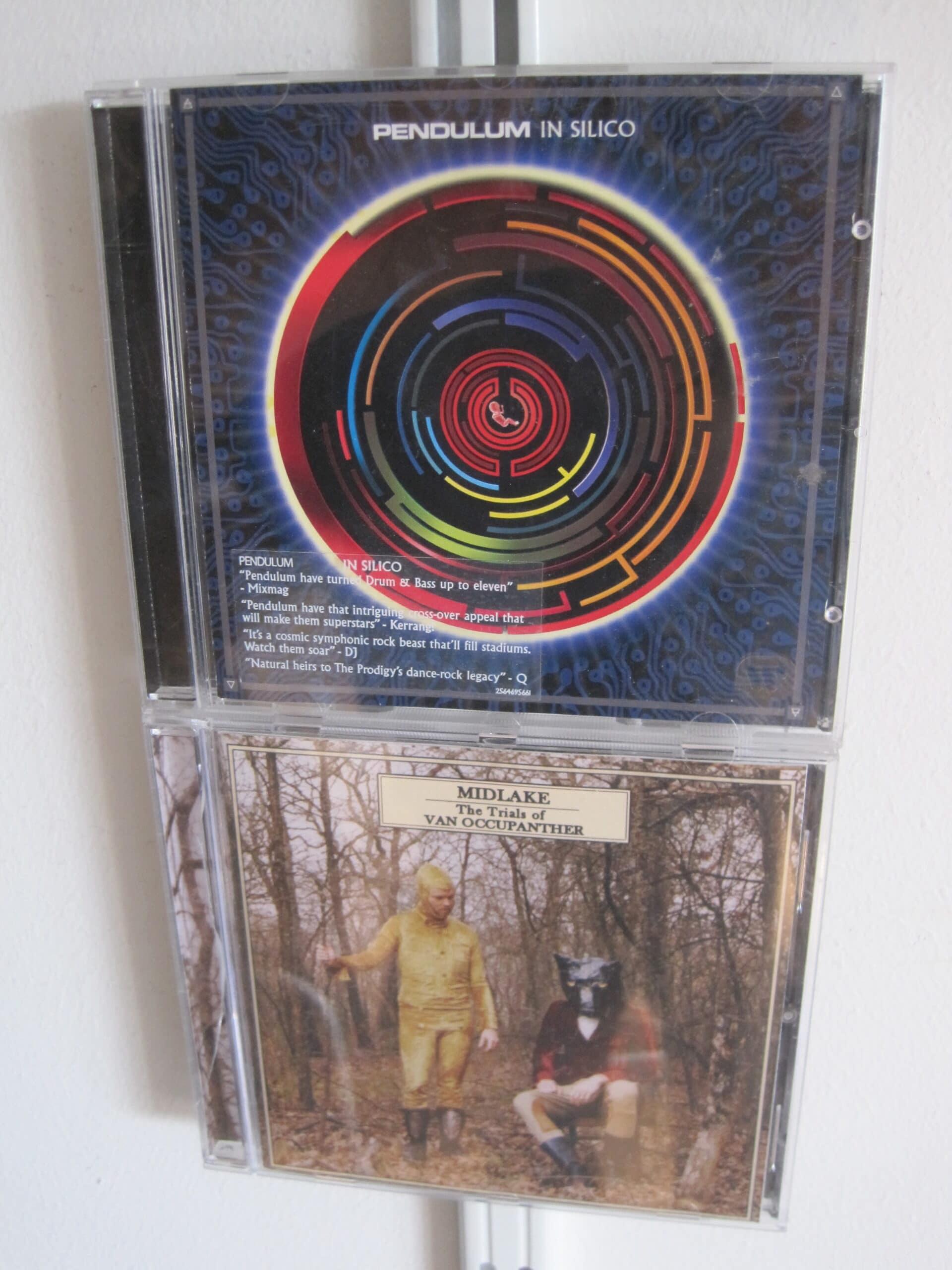 Stelt u zich eens een hele wand voor met uw cd's!